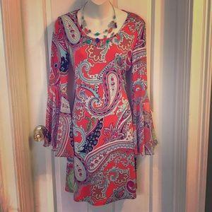 NWT!!! Paisley dress